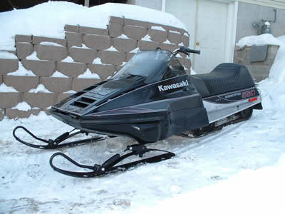 Kawasaki Interceptor Snowmobile For Sale