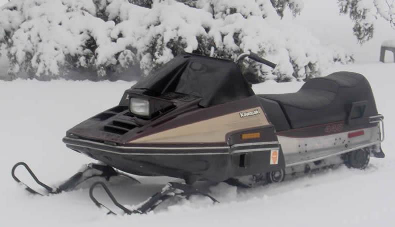 Kawasaki Ltd Snowmobile